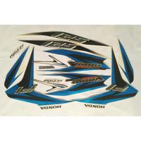 LIS polet stiker striping honda vario techno 125 fi 2013 putih biru