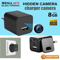 Spy Camera USB Charger Adaptor Free 8GB HD 1080 - Hidden Camera