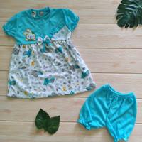 setelan baju bayi perempuan 6 12 bulan, dress bayi