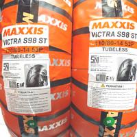 Ban Tubeless Ban Depan Aerox 155 Maxxis Victra S98 110 / 80 - 14