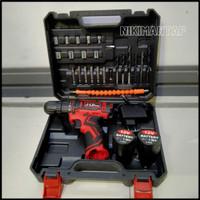 cordless drill / bor cas / mesin bor cas / bor tangan / bor 12v JDL