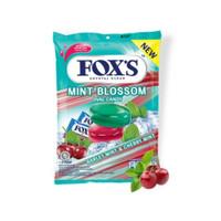 Permen Fox Foxs Fox's Mint Blossom Oval Candy 125gram 125 gram