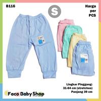 B116 Baby Clothes Celana Panjang Bayi S Katun Warna Lembut Nyaman SNI