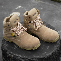 Sepatu boot safety pria Delta Low tactical 6.0 Touring Hiking Tracking - 39