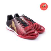 Sepatu Futsal Ortuseight Forte Helios In Ortred/Black/Gold Original
