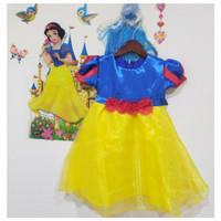 DRESS SNOW WHITE ANAK 2 TAHUN - 6 TAHUN baju pesta anak baju princess