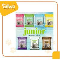 PASIR Junior 20 KG 25 LITER pasir kucing JUNIOR 25 liter gumpal wangi