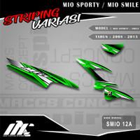 STRIPING VARIASI MIO SPORTY / SMILE - SMIO 12 - STIKER MOTIF RACING