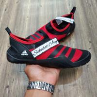 Sepatu Adidas Climacool Jawpaw Slip On Black Red