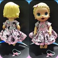 baju boneka baby alive handmade murah