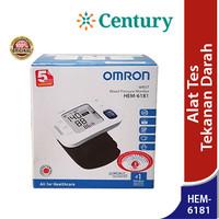 Omron Wrist Blood Pressure Monitor HEM-6181 / Hipertensi / Alat Tensi