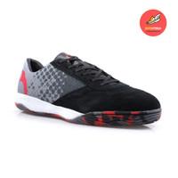 Sepatu Futsal Ortuseight Jogosala Avalanche Black/Rhod Red/Gum Ori