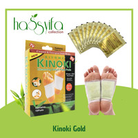 Kinoki Gold atau ginger foot patch