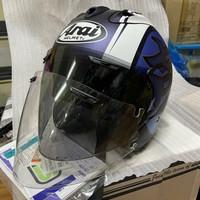 Helm arai Copy ram 5 KODO biru not TSR