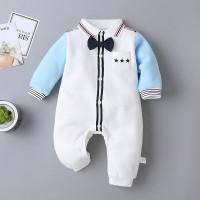 Baju Bayi Import Korea TUXEDO CAPTAIN 100% Katun baju bayi Unisex