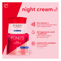 PONDS AGE MIRACLE Youthful Glow NIGHT CREAM 10gr