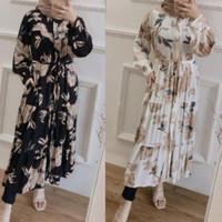 Gamis wanita Dress long tunik busui muslim bahan guardian premium