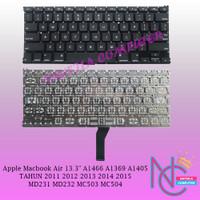 Keyboard Apple MacBook Air 13 13.3 A1369 A1466 A1405 2011 - 2015