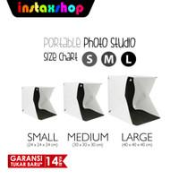 Mini Studio Foto With LED Size S,M,L