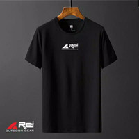 Kaos Tshirt Baju Obral Murah Combed 30s Outdoor Rei logo Tengah
