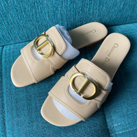 Sandal D*0r M0ntaigne 30 Nude [READYSTOCK] - 37