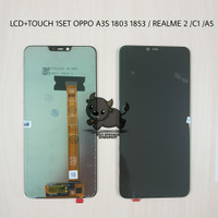 LCD TOUCHSCREEN 1SET OPPO A3S CPH1803 1853 / REALME 2 / REALME C1 / A5