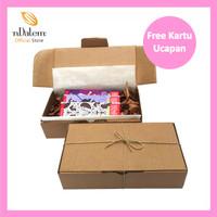 Coklat Valentine - Hampers nDalem (3 Varian Rasa) Free Ucapan