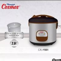 Magic Com COSMOS CRJ-9301 / Rice Cooker Cosmos 2Liter - CRJ9301