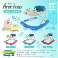 Baby Walker Anak Family Spongebob FB-12388 First Step Babywalker 12388