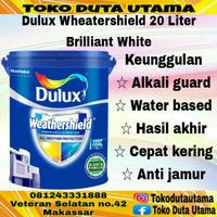 Cat Dulux Weathershield Ukuran 20 Liter (BRILIANT WHITE )