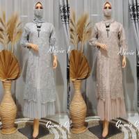 Gamis Muslim Tulle Wanita Pesta Baju Dress Modern Dan Aneka Lain nya