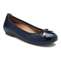Vionic Minna Navy Ballerina Shoes Wanita - TJ30