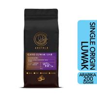 ARUTALA Kopi Luwak Gayo Wild Civet Coffee 200 gram - Biji