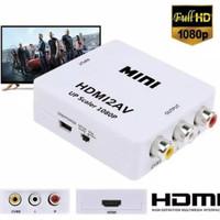 HDMI TO AV RCA CONVERTER KONEKTOR ADAPTER MINI