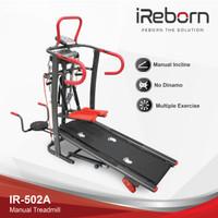 Alat Fitness Treadmill Manual IR-502 A