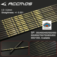 Arrow Carbon Accmos TOP ONE ID 3.2 model X10 Straightness +- 0.001