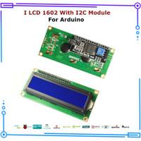 LCD 16x2 1602 With I2C IIC Module Backpack Board Arduino