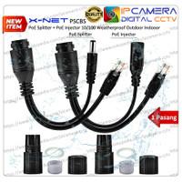 POE Injector POE Spliter Waterproof Outdoor IP CAM AP Wifi Router
