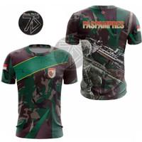 Baju Jersey PASPAMPRES Full Printing / Promo / Murah Berkualitas - S, loreng