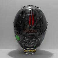 Helm NJS Shadow N 814 Full face Double Visor Black Red