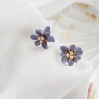 Anting bunga cantik wanita korea simple cantik lucu fashion premium