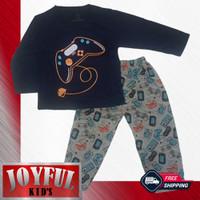 Setelan Panjang Baju / Kaos Anak Laki-laki 058 1 - 10 Tahun