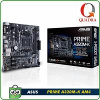 ASUS PRIME A320M-K (AMD AM4, AMD A320, DDR4, USB3.1)