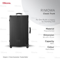 RIMOWA Classic Trunk 100 L - Koper Rimowa - Matte Black