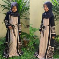 gamis abaya anak perempuan baju muslim lebaran by Noerabaya
