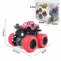 Mainan Anak Mobil Mobilan Jip Monster Zap Off Road 4 Drive Big Foot - Merah