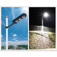Lampu Jalan PJU 100WATT Lampu Jalan Led Solar Cell 100W + Remote