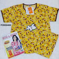 Baju Tidur HOKI & SHEILA Katun wanita celana 3/4 (cow 2)