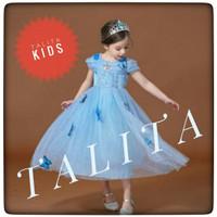 Baju anak Dress kostum Princess cinderella