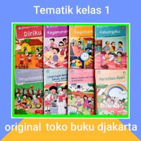 Buku Paket Tematik SD kelas 1 tema 12345678 Agama Islam kurikulum 2013
